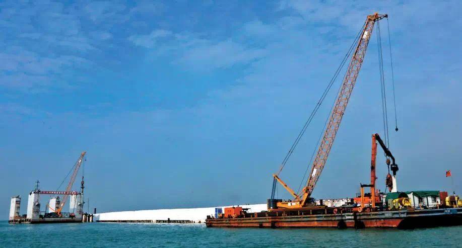 18米钢板桩施工