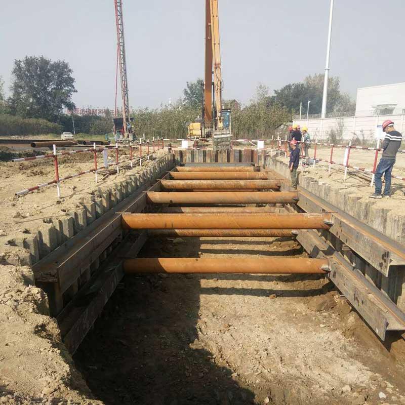 惠州钢板桩施工