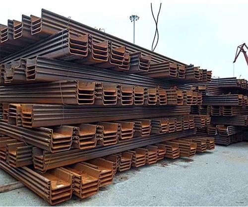 汕头拉森钢板桩应该怎么堆放及吊装?