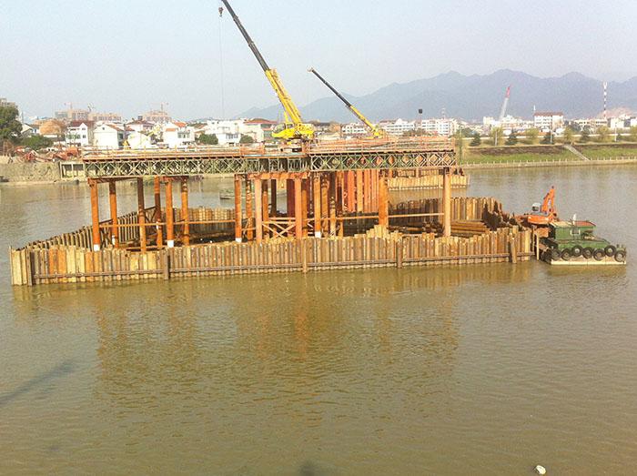 钢板桩施工前检查和基础开挖的基本要素
