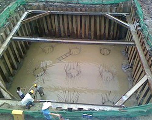 基坑支护方式,钢板桩与灌注桩的工艺流程及特点
